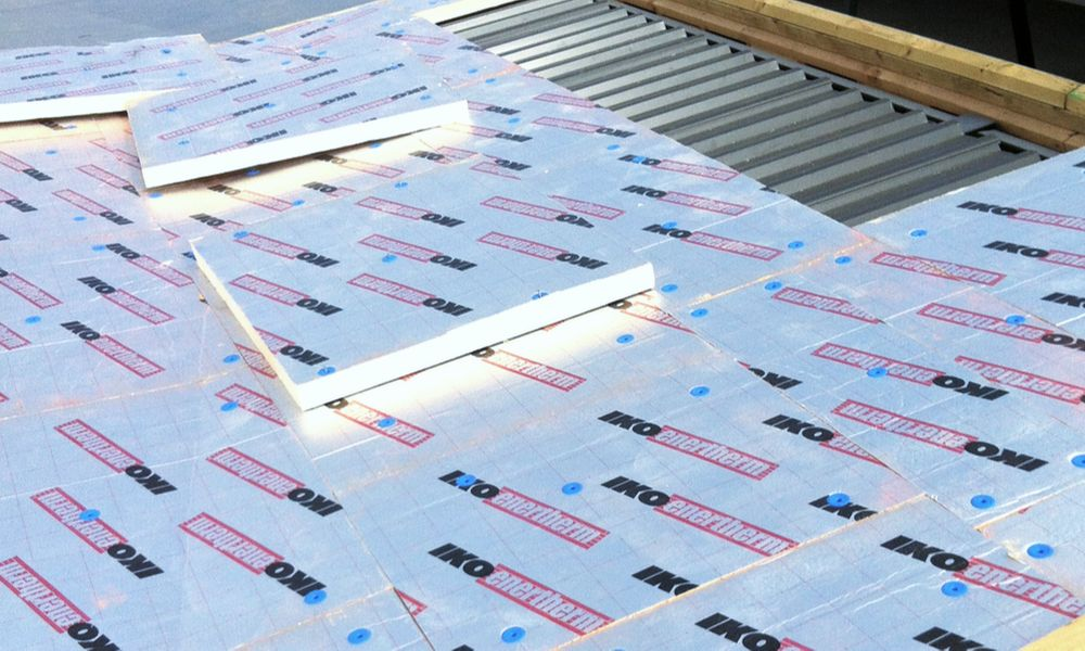 Nuratherm Roof on Metal Tray