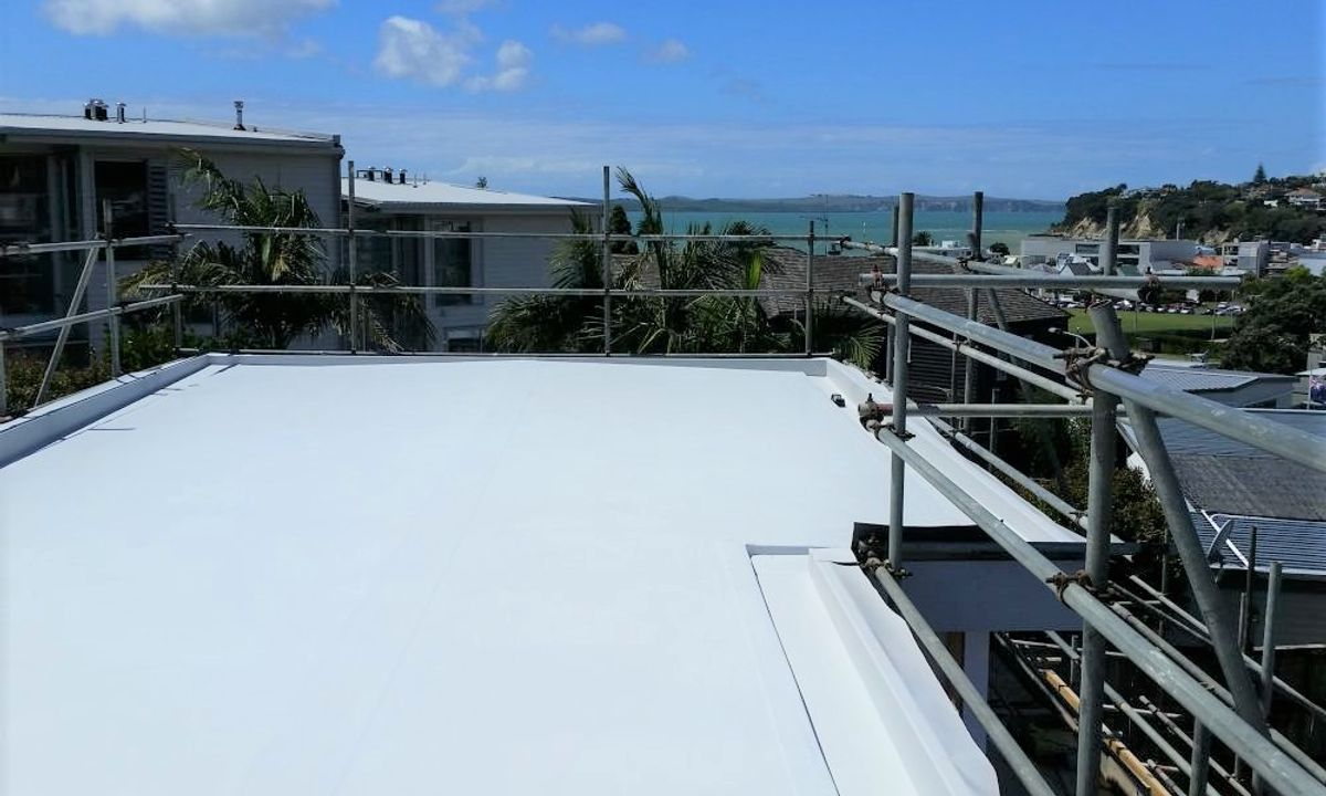 St Heliers Nuraply Everguard TPO Roof